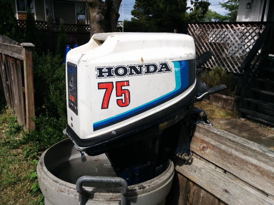 Honda 7 5 hp outboard motor north saanich sidney victoria for Honda outboard motors price