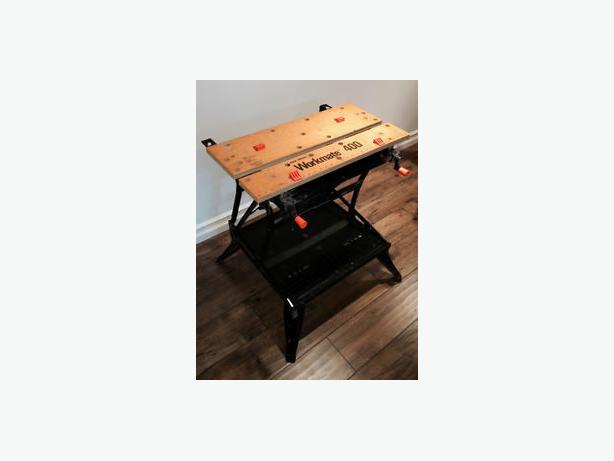 Black And Decker Workmate 400 Portable Work Bench Oak Bay Victoria