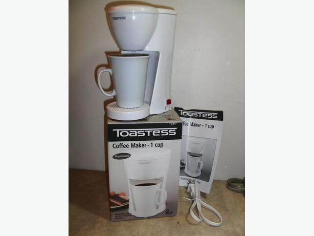 Toastess Single Cup Coffee Maker Central Nanaimo, Nanaimo