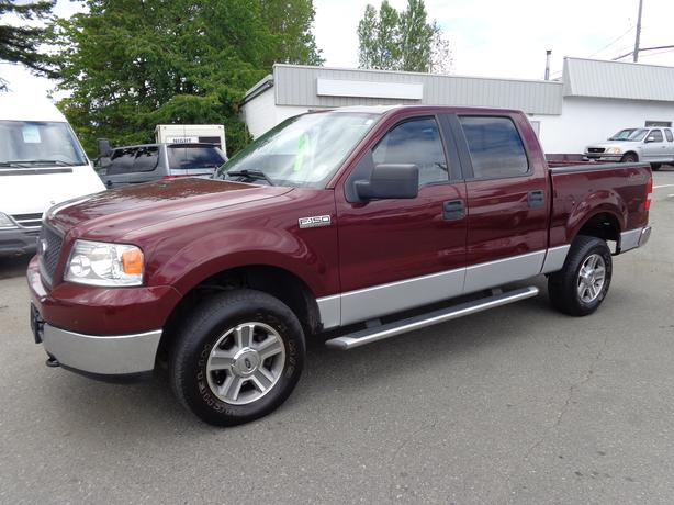 2005 ford f150 xlt 4x4 super crew central nanaimo. Black Bedroom Furniture Sets. Home Design Ideas