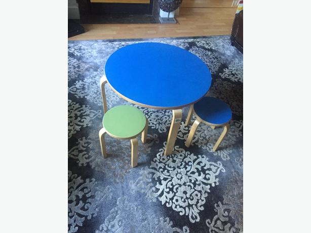 Ikea Smulan Children S Table And 2 Stools Saanich Victoria