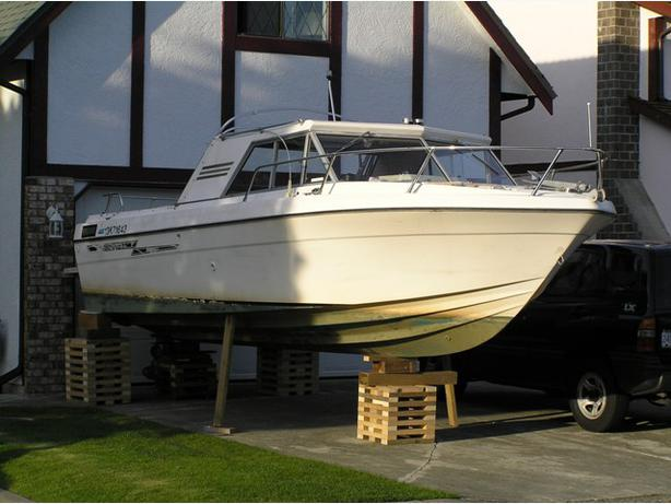 1976 21ft Campion Project Boat North Nanaimo Parksville
