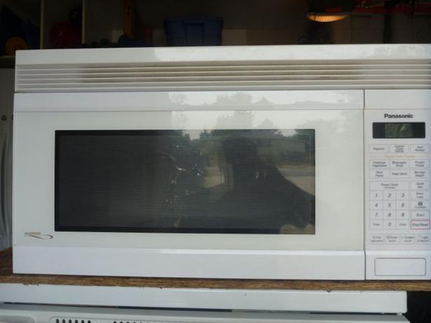 Microwave Oven Panasonic Inverter 30 Quot Over The Range Oak