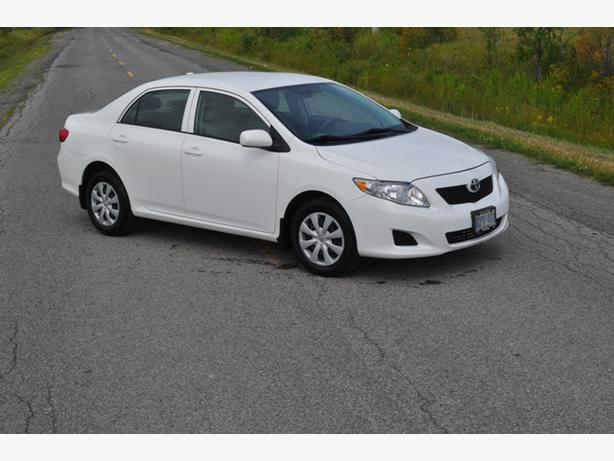 2009 toyota corolla for sale one owner only nepean ottawa. Black Bedroom Furniture Sets. Home Design Ideas