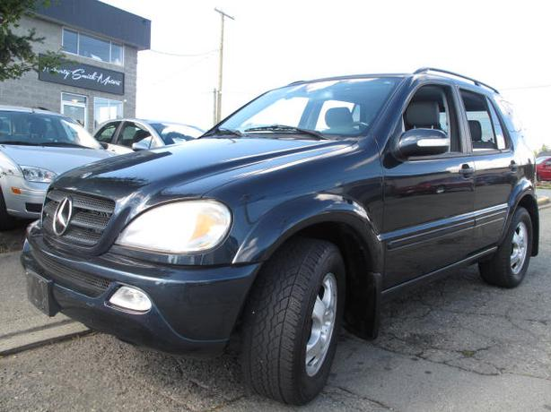 2002 mercedes ml 320 suv loaded sharp price outside for 2002 mercedes benz suv
