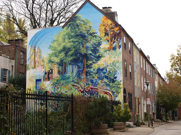 Wanted looking for local artist to paint a wall mural for Mural tour philadelphia map