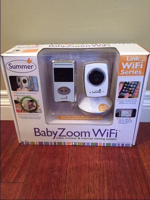 summer wifi baby monitor 125 obo saanich victoria mobile. Black Bedroom Furniture Sets. Home Design Ideas