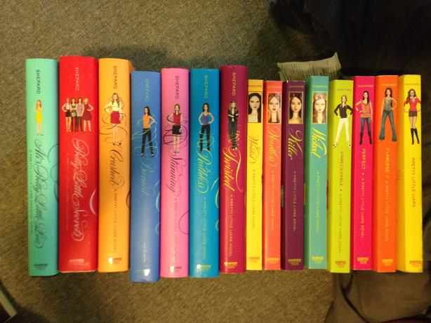 Pretty Little Liars First Book Cover ~ Pretty little liars book collection other south