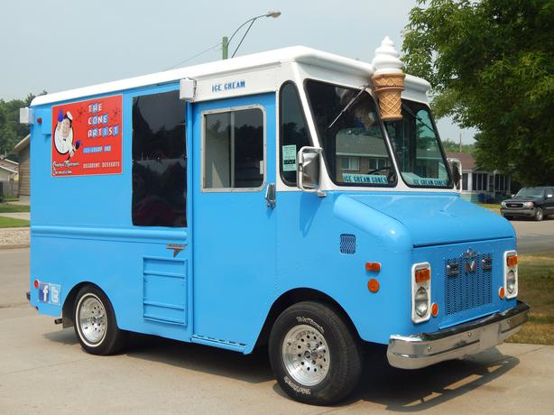 ice cream food truck