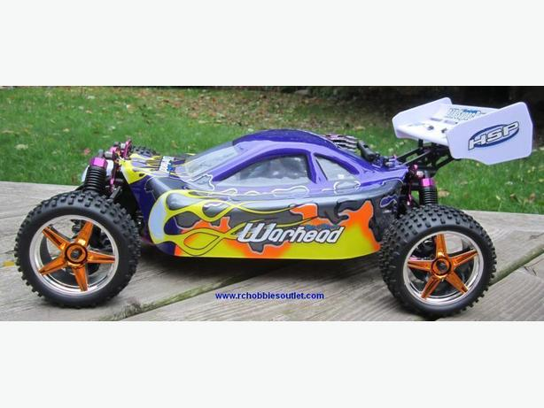 New Nitro RC Buggy 1/10 4WD 2.4GHz