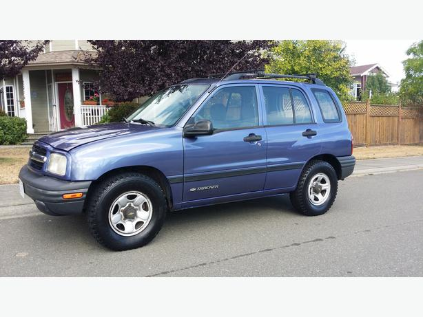 1999 chevy tracker 4cly automatic 4 door outside victoria. Black Bedroom Furniture Sets. Home Design Ideas