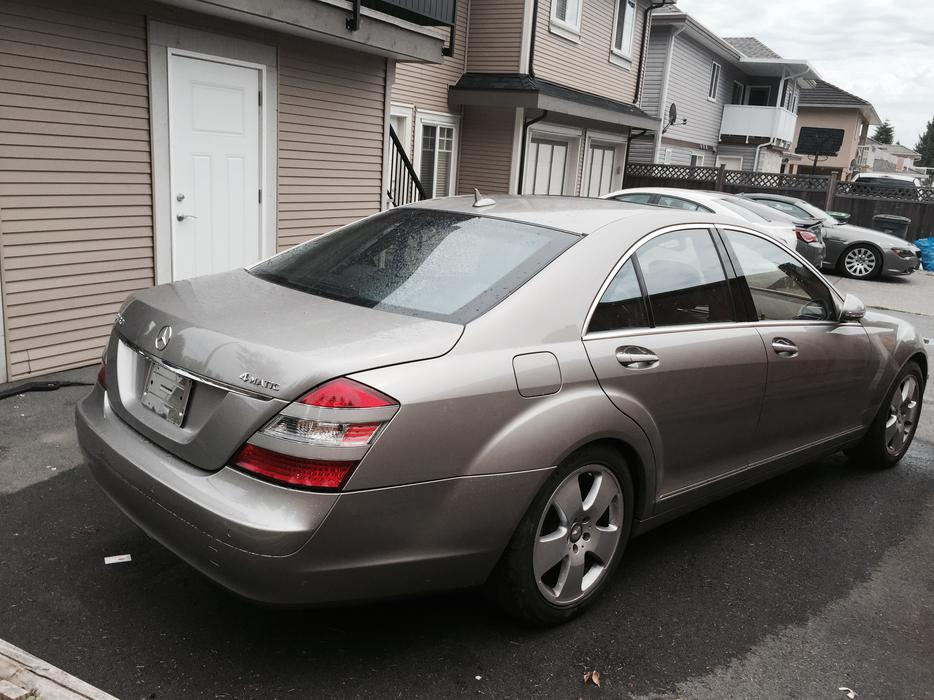 2008 mercedes benz s450 s550 only 60000km 750li 750i for Mercedes benz s450