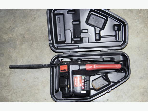 free hamilton power tools chain saw New greenworks 16 corded chainsaw still in the box.