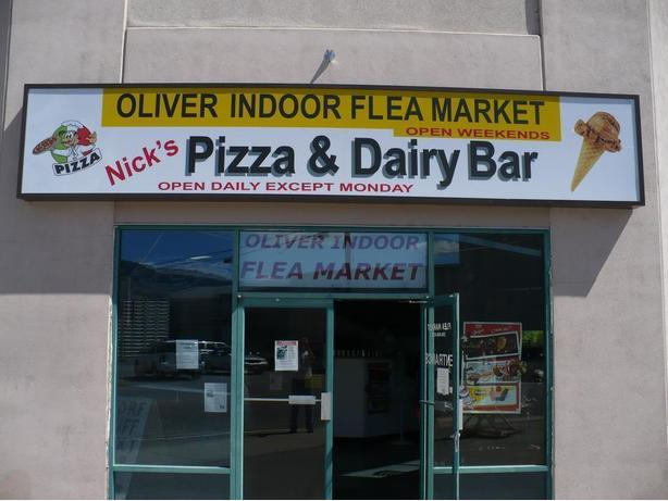 Oliver Indoor Flea Market - open weekends year round