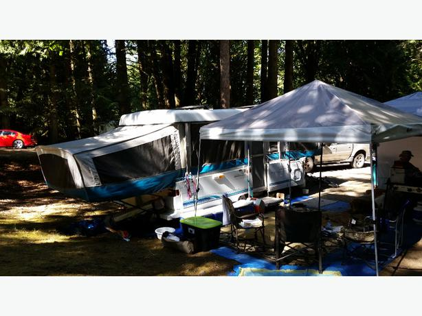 Fleetwood Tent Trailer North Nanaimo Parksville Qualicum