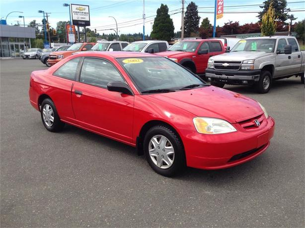2002 honda civic dx automatic low kms outside nanaimo. Black Bedroom Furniture Sets. Home Design Ideas