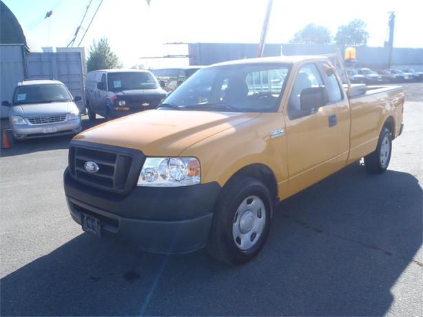 2008 ford f 150 xl regular cab long box 2wd burnaby incl new westminster surrey. Black Bedroom Furniture Sets. Home Design Ideas