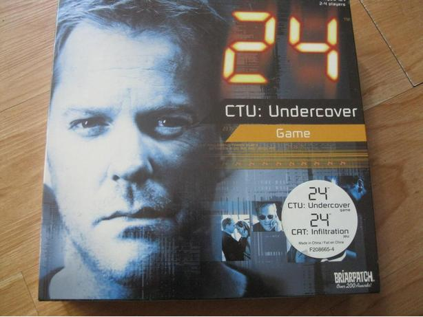 Brand New and Unopened - 24 CTU-Undercover Game