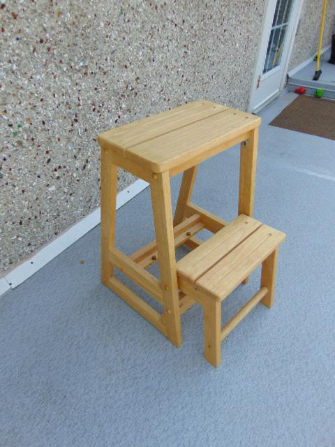 Step Stools For Adults ~ Solid wood step stool adult perfect for kids kitchen or