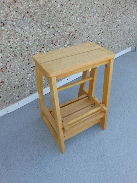 Solid wood step stool adult perfect for kids kitchen or bathroom 14 x 21 victoria city Bathroom step stool for kids
