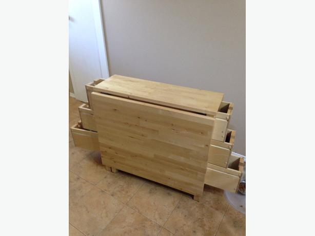 from ikea value 250 space saver multi purpose solid wood great