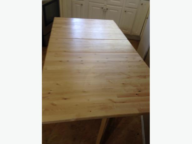 150 ikea solid wood table east regina regina mobile