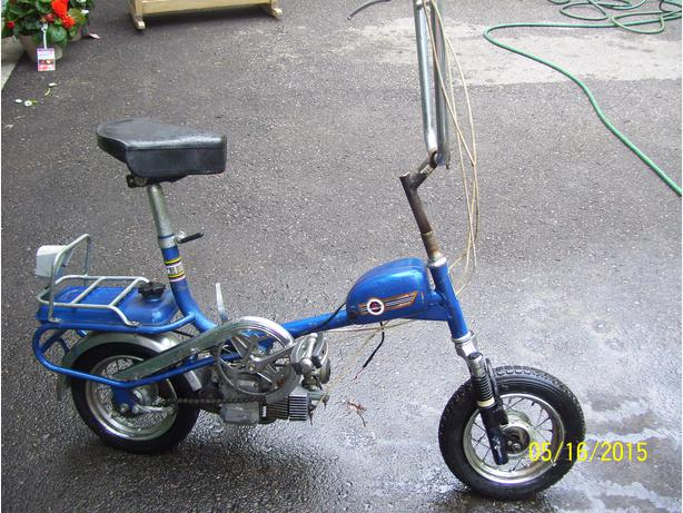 Garelli Miniped Moped Scooter Mosquito 1974  TRADES?