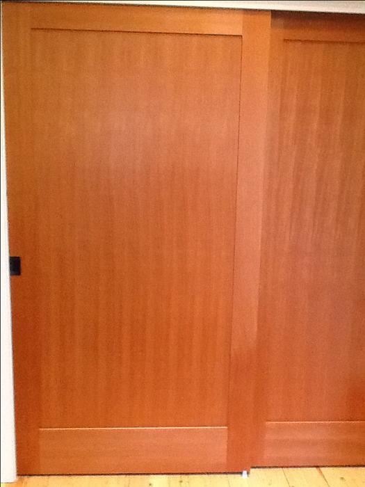 Wood Doors Solid Fir Interior Double Door Set Saanich