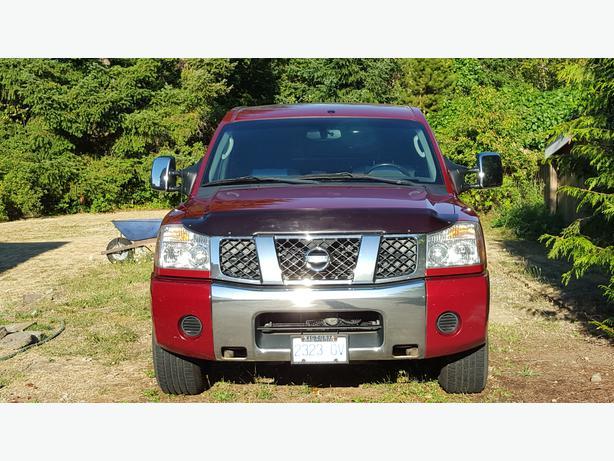 2004 nissan titan pickup truck king cab outside nanaimo nanaimo. Black Bedroom Furniture Sets. Home Design Ideas