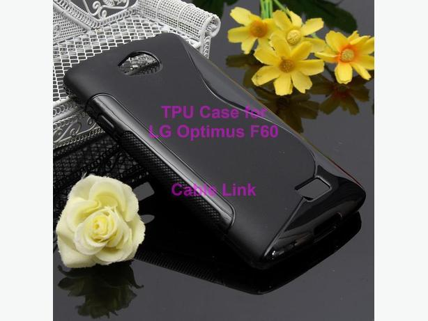 S Line Wave Soft TPU Silicone Case For LG Optimus F60