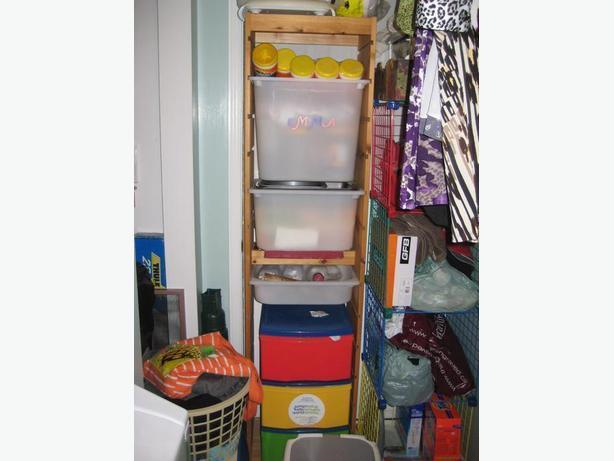 FS: IKEA Trofast storage unit frame + bins