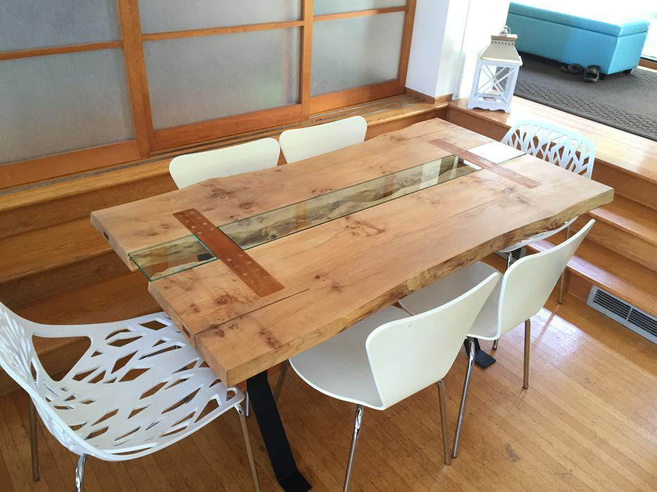 LIVE EDGE Dining Table or Executive Desk ONE OF A KIND  : 48282889934 from www.usedvictoria.com size 934 x 700 jpeg 87kB