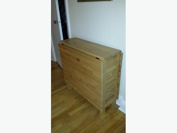 gateleg table ikea central ottawa inside greenbelt. Black Bedroom Furniture Sets. Home Design Ideas