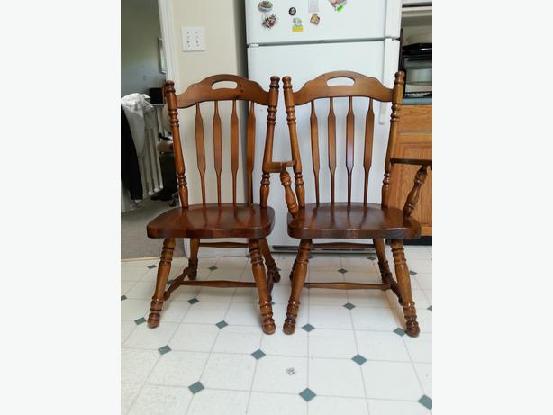 dining room chairs country style malahat including shawnigan lake