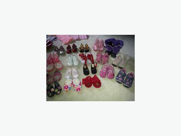GIRL'S BABY & TODDLER SHOES -STRIDE RITE, ROBEEZ, GAP, OLD NAVY