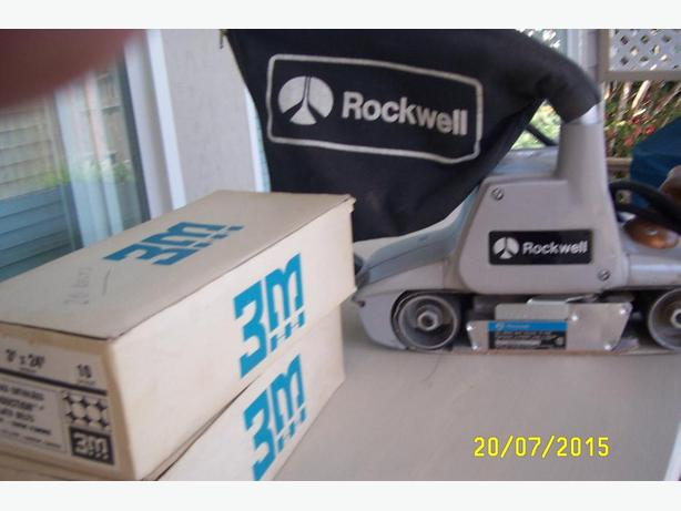 3 inch Rockwell Belt Sander