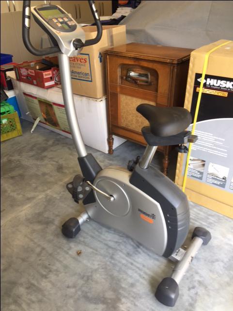 Exercise bike upstairs apartment rental