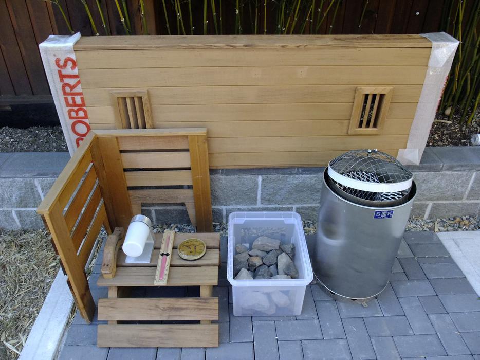 Sauna starter kit - for a traditional Finnish hot rock sauna Victoria City, Victoria