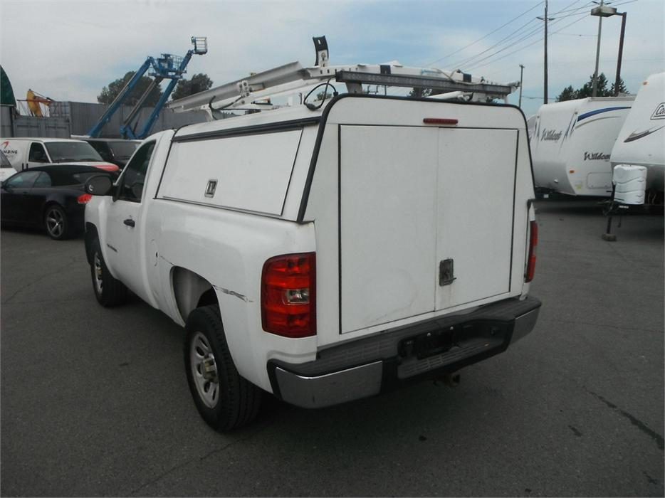 2011 chevrolet silverado 1500 work truck regular cab regular box with canopy 2wd outside comox. Black Bedroom Furniture Sets. Home Design Ideas