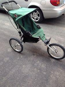 Running Room single jogging stroller in excellent condition ...