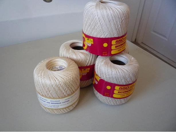 23 New Skeins Of Crochet Cotton $3 Each