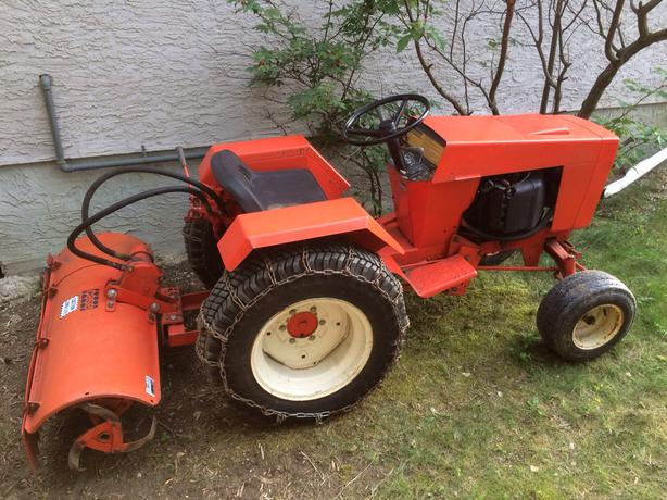 Used Garden Tractor Loaders : Used garden tractor attachments bing images