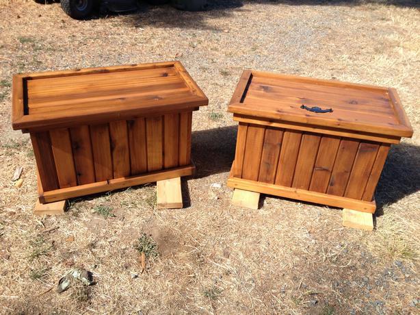 Balcony Bench Boot Box Cedar Nanaimo