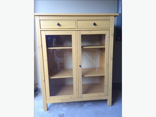 Discontinued IKEA HEMNES CABINET original yellow stain! Esquimalt& View Royal, Victoria