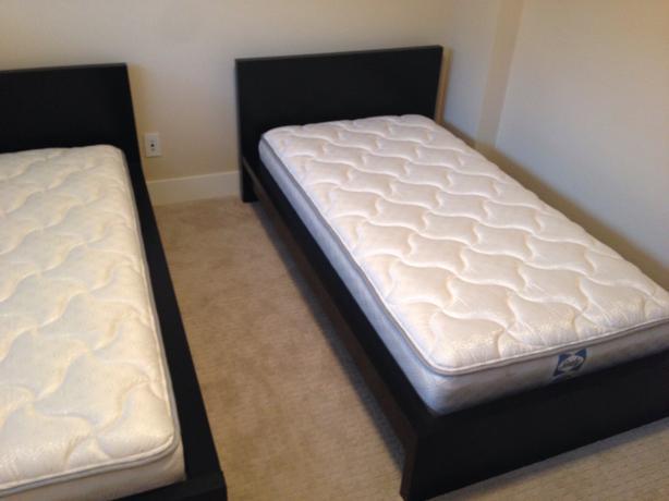 Two New Condition Ikea Malm Twin Beds Victoria City Victoria