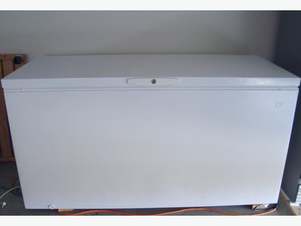 large chest freezer for sale campbell river