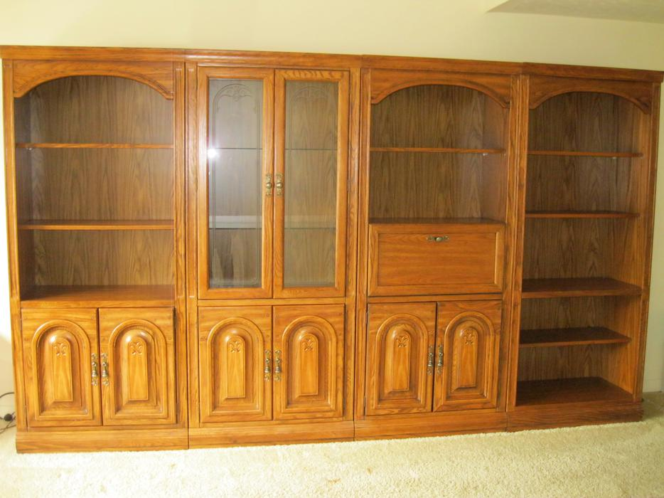 Wall Unit Bookcase Nepean Ottawa