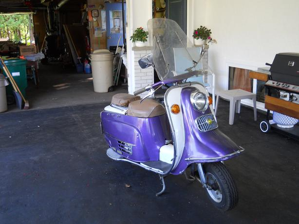 1968 rabbit superflow s601 scooter nepean gatineau for Garage scooter nice