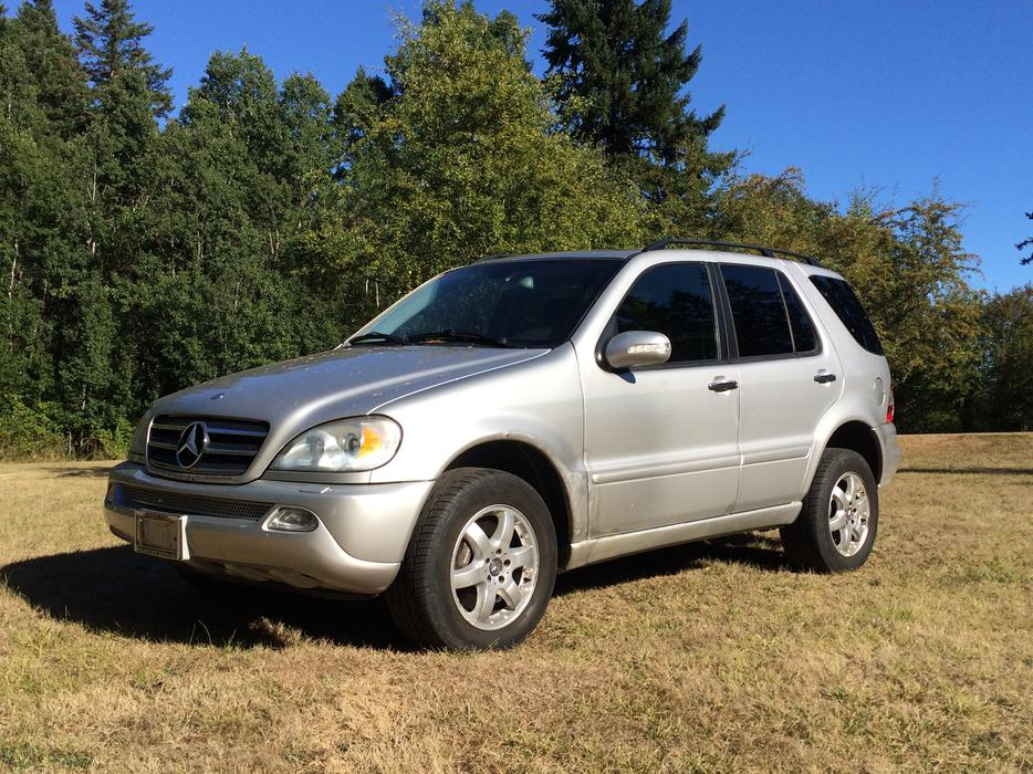 2004 mercedes benz ml500 sport optional 7 seater saanich for Mercedes benz seven seater