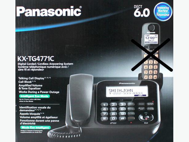 panasonic kx t7630 answering machine manual